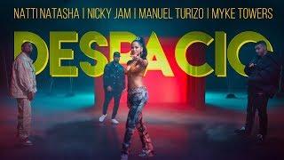 Natti Natasha   Nicky Jam   Manuel Turizo   Myke Towers - Despacio [Official Video]