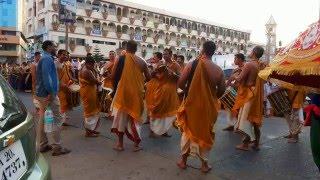 Pejawara Swami Purapravesha 2016 Marpalli Chande Team