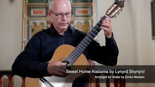 Sweet Home Alabama (Lynyrd Skynyrd) - Danish Guitar Performance - Soren Madsen