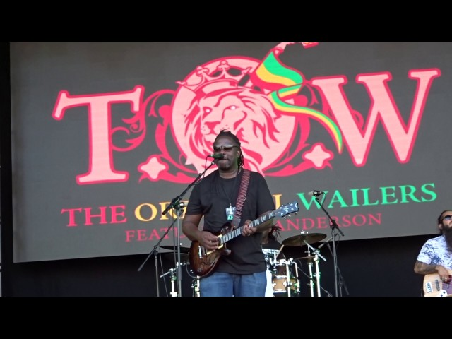 """Video en directo de """"Could you be Loved"""", canción de The Wailers con Al Anderson."""