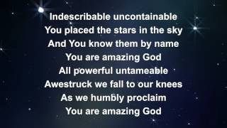 Indescribable - Lyric video (with vocals) // taken from iSingWorship