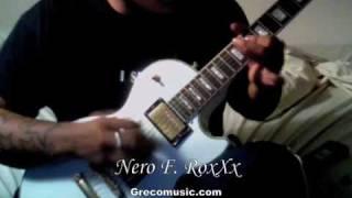 Guns n Roses - The Garden (guitar solo cover)