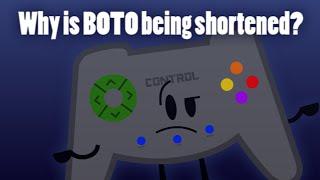Regarding the Shortening of BOTO