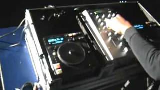Dj Jose Mixing music at a party