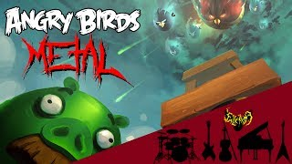 Angry Birds Main Theme 【Intense Symphonic Metal Cover】