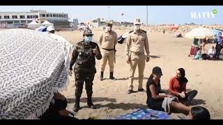 L'été en temps de Covid : Une radio spéciale à la plage de Rabat pour sensibiliser les estivants