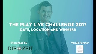 Finally - we announce the winners of the Play Live Challenge 2017!