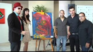 Floyd the Rock Artist ( Personal Art Exhibit ) on BeART Series.Eurosuites Hotel  - Doral, Miami.