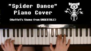 """Spider Dance"" (Muffet's Battle Theme) | Undertale Piano Cover"