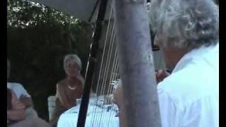 El Sonido del silencio con arpa y flauta