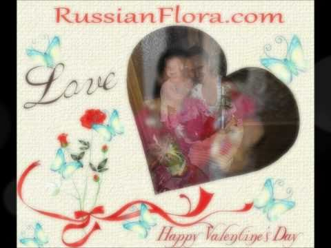 2011 Valentine's Day Flowers to Russia & CIS
