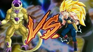 Freeza Dourado vs Bardock Ssj 3 Duelo De Gigantes