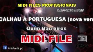 ♬ Midi file  - BACALHAU À PORTUGUESA (nova versão) - Quim Barreiros