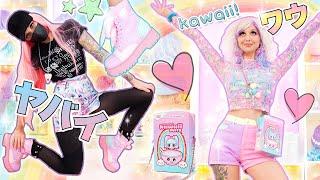 DRESSING LIKE A REAL-LIFE ANIME CHARACTER!   Style Walkthrough: Dolls Kill Sugar Thrillz