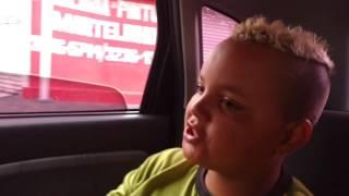 Freestyle no carro com os Alunos/Robertinho Filho do Céu