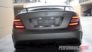RamSpeed Mercedes-Benz C 63 AMG Black Series with Kleemann supercharger
