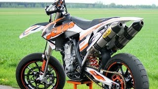 KTM SMR450 with DUAL ARROW (Engine sound only!) by Supermofools