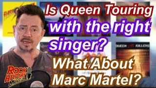 Is Queen Touring With The Wrong Singer? Listen to Marc Martel