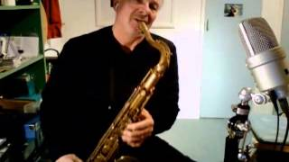 Beautiful Love on Tenor Sax