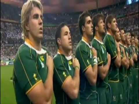 Inno Sud Africa mondiali 2007 tradotto – South African anthem translated in Italian.mp4