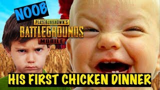 Carrying My Noob Friend To His First Win in PUBG Mobile | Funniest Moments | Triggered Insaan