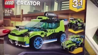LEGO 31074 - LEGO Creator 31074 - Raketen-Rallyeflitzer, Beliebtes Kinderspielzeug