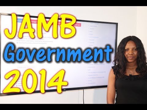 JAMB CBT Government 2014 Past Questions 1 - 24