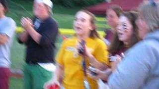 Rambler spirit at the Illinois State Championship Girls' Softball Finals