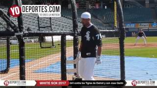 White Sox Opening Day workout at Guaranteed Rate Field