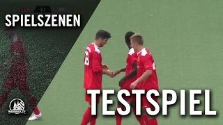 Viktoria Köln II - Bonner SC U19 (Testspiel) - Spielszenen | RHEINKICK.TV