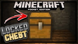 Lock your chest! {MCPE 1.0.0}