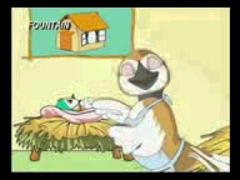 Marathi Balgeet   EK Hothi Chioo Tai   Animated Song For Kids 3gp