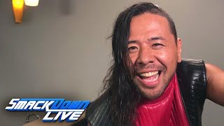 Shinsuke Nakamura vows to dethrone Jeff Hardy at Extreme Rules: SmackDown LIVE, July 3, 2018