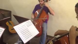 The Last of the Mohicans - 4 cellos
