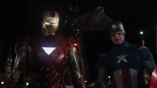 Iron Man's Entrance - The Avengers (Iron Man meets Captain America)