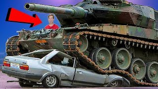 I Crushed My Neighbors Car with a Tank... REVENGE!