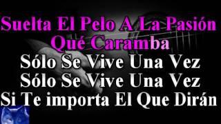 karaoke  Solo Se Vive Una Vez  Azucar Moreno
