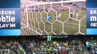 Sounders FC (1st goal) vs. Whitecaps FC - 18 August 2012 (video 8 of 9)