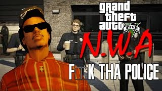 "N.W.A FUCK THE POLICE | ""GTA 5 PARODY"""