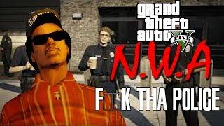 "N.W.A FUCK THE POLICE | ""GTA 5 PARODY"""