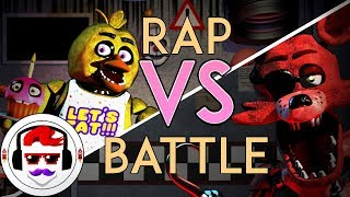 Five Nights at Freddy's Rap Battle | Foxy VS Chica | #RockitGaming