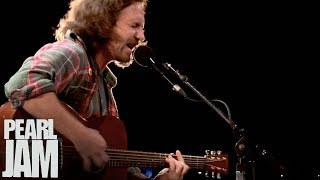 """Far Behind"" (Live) - Eddie Vedder  - Water on the Road"