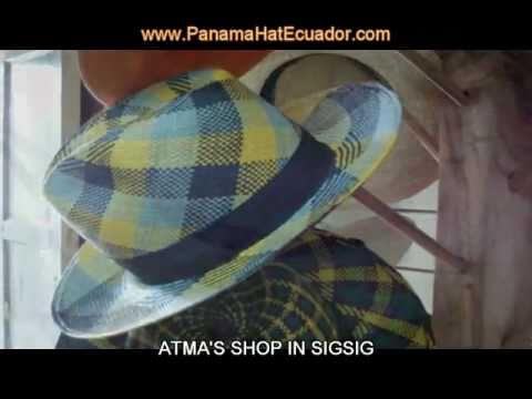 PANAMA HATS ECUADOR – ATMA in Sigsig