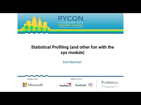 Statistical Profiling (and other fun with the sys module)
