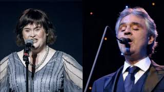 "Susan Boyle -  Duet Andrea Boccelli  "" The Lord's Prayer """