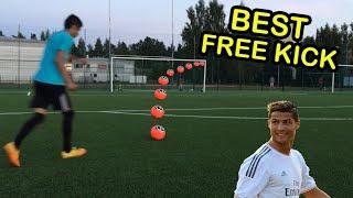Best Free Kicks Montage  Freekick Session  Ronaldo vs Messi Shots by SFT FOOTBALL