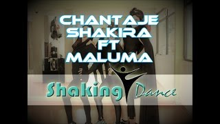 Shakira - Chantaje ft. Maluma / CHOREOGRAPHY OFFICIAL FITNESS / COREOGRAFIA FITNESS