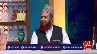 Subh e Noor - 01 October 2017 - 92NewsHDPlus
