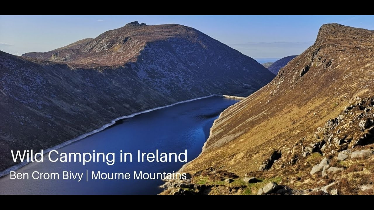 Wild Camping in Ireland | Ben Crom Bivy | Mourne Mountains
