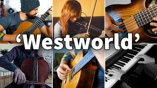 Who Played It Better: Westworld Main Theme (Guitar, Bass, Piano, Violin, Cello)